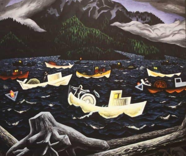 Fishboats, Rivers Inlet