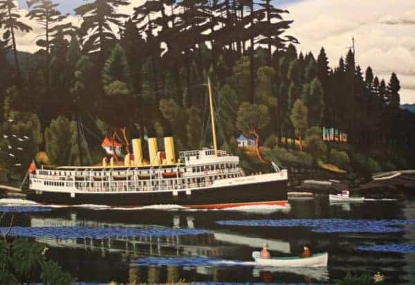 The Coastal Steamship Princess Victoria